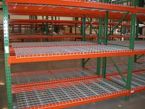 steel warehouse shelving industrial metal shelving eagle steel rh eaglesteelinc ca Warehouse Storage Racks Steel Shelving Parts